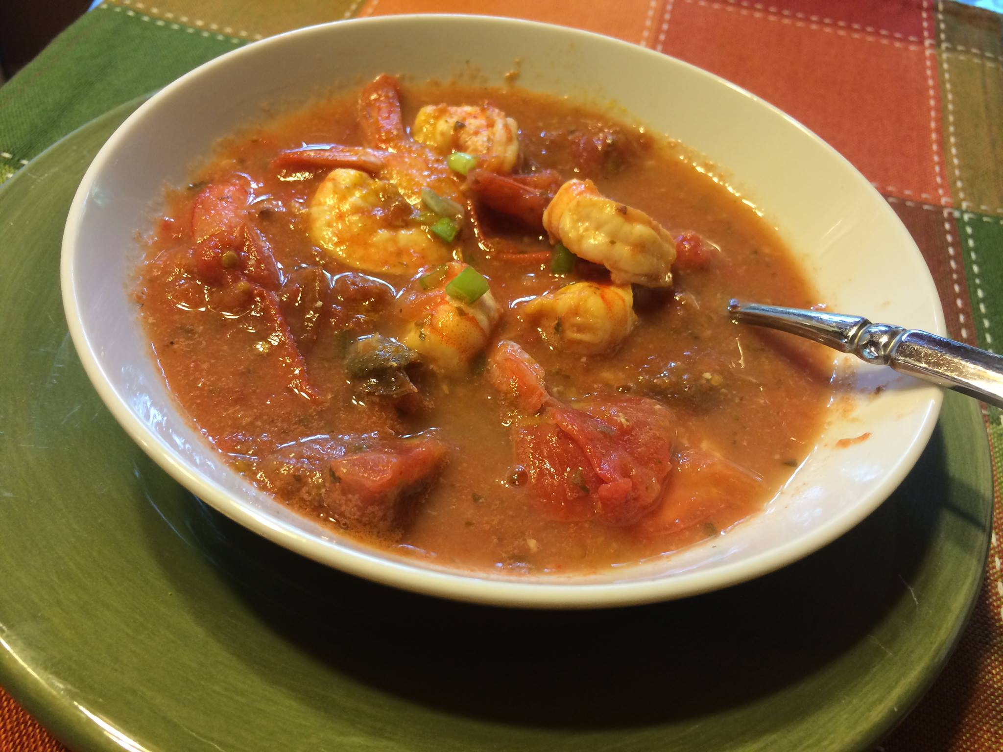 Spicy Shrimp and Tomato Soup HCG Phase 2 Shrimp Recipe