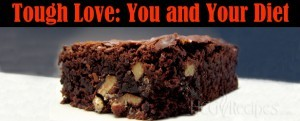 Tough Love for HCG Dieters Tough Love: You and your Diet Brownie with nuts picture