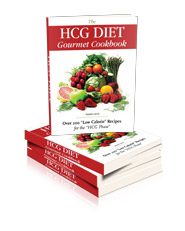 HCG Diet Gourmet Cookbook HCG Recipes Affiliate Program book cover image