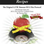 Pounds and Inches Recipes A.T.W. Simeons New HCG Diet CookBook Coming Soon