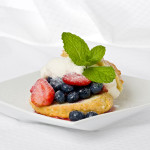 Fourth of July Shortcake Recipe with Cream