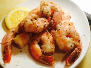HCG Shrimp Recipe with Black pepper