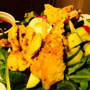 Crispy Chicken Salad an HCG P3 Recipe