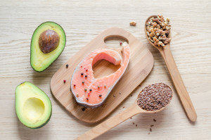 HCG Diet Phase 3 Foods List salmon, avocado, walnuts and flax seeds