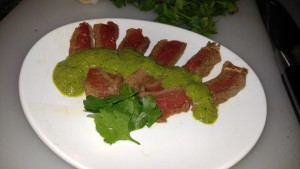 Chimichurri Steak Recipe Phase 2