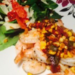Phase 4 Shrimp with corn relish recipe Phase 4